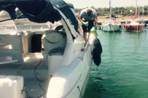 Lucidatura imbarcazioni